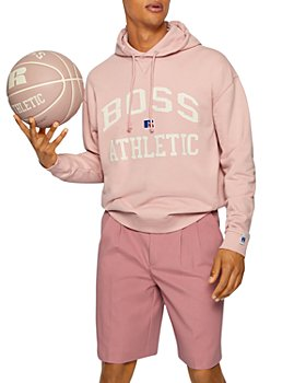 BOSS - X Russell Athletic Safa Logo Relaxed Hoodie