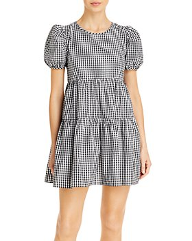 Ava & Esme - Two Tiered Gingham Dress (59% off) - Comparable value $98