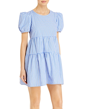 Two Tiered Gingham Dress (59% off)
