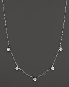 Diamond Necklace in 14K White Gold, 0.75 ct. t.w. - 100% Exclusive - Bloomingdale's_0