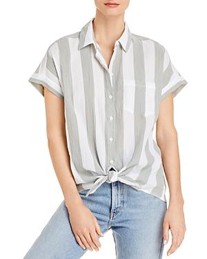 Brooklyn Short Sleeve Tie Front Shirt