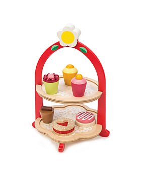 Tender Leaf Toys - Afternoon Tea Stand Wooden Toy - Ages 3+