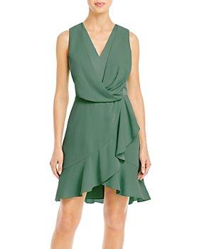 BCBGMAXAZRIA - Gathered Mini Dress