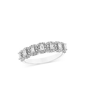 Bloomingdale's - Diamond Anniversary Band in 14K White Gold, 0.65 ct. t.w. - 100% Exclusive