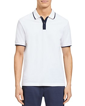 Theory - Color Tipped Pique Polo Shirt