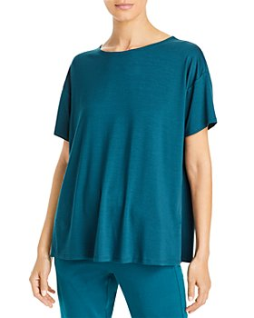 Eileen Fisher - Short Sleeve Boxy Tee