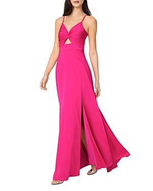 Twist Front Mermaid Gown