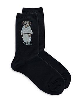 Ralph Lauren - Safari Bear Crew Socks