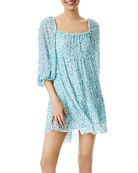 Alice and Olivia - Rowen Sequined Mini Dress