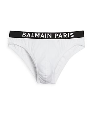 Balmain Cotton Blend Logo Briefs