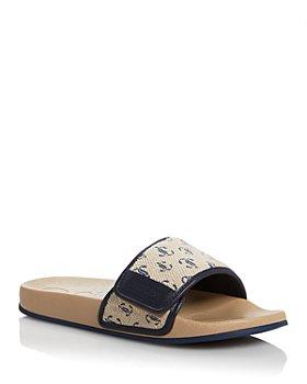 Jimmy Choo - Women's Fitz Logo Slide Sandals