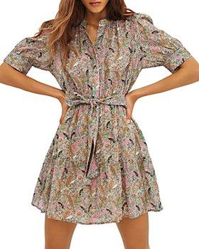 ba&sh - Jasmine Printed Shirt Dress