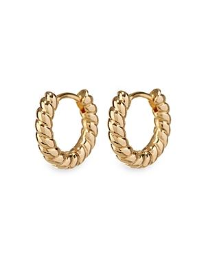 Mini Rope Huggie Hoop Earrings