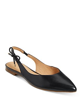 Jack Rogers - Women's Serena Pointed Toe Slingback Leather Flats