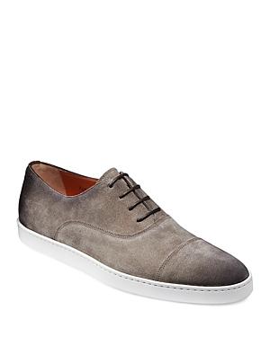 Santoni Men's Durbin Lace Up Oxford Dress Shoes