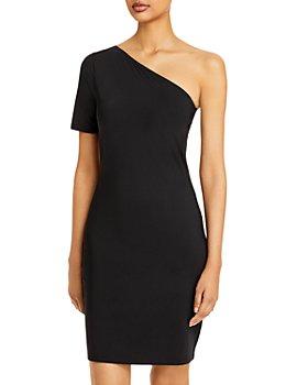 Theory - One Shoulder Mini Dress