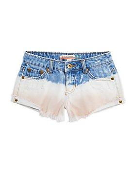 Vintage Havana - Girls' Dip Dyed Denim Shorts - Big Kid