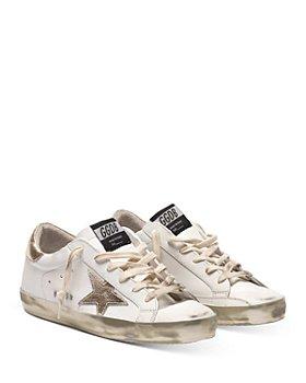 Golden Goose Deluxe Brand - Women's Super-Star Low Top Sneakers