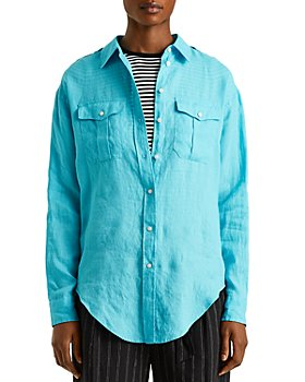 Ralph Lauren - Button Front Linen Shirt