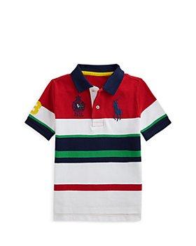 Ralph Lauren - Boys' Big Pony Striped Polo Shirt - Little Kid