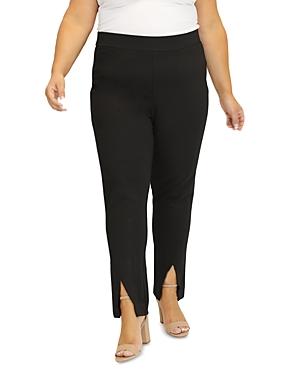 Slit Front Compression Pants