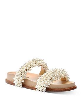 Alexandre Birman - Women's Constanza Faux Pearl Sandals