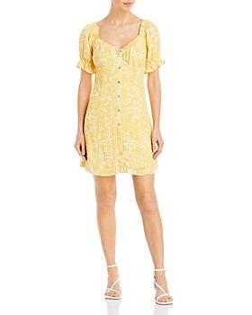 Lost and Wander - Daisy Field Mini Dress