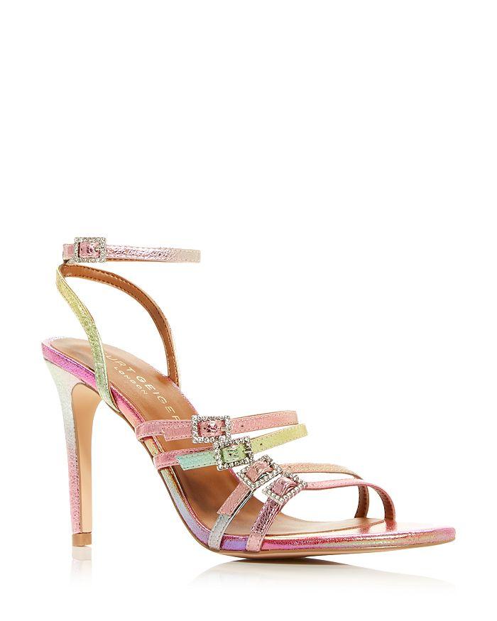 KURT GEIGER LONDON - Women's Pierra Rainbow High Heel Sandals
