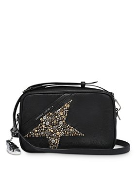 Golden Goose Deluxe Brand - Studded  Hammered Leather Star Bag