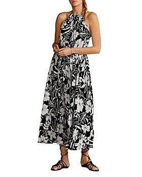 Ralph Lauren - Floral Print Halter Dress