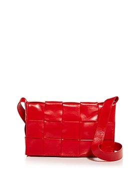 Bottega Veneta - Intreccio Leather Crossbody