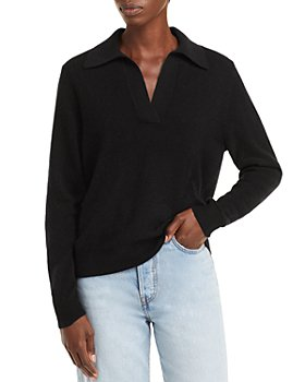 C by Bloomingdale's - Polo Cashmere Sweater - 100% Exclusive