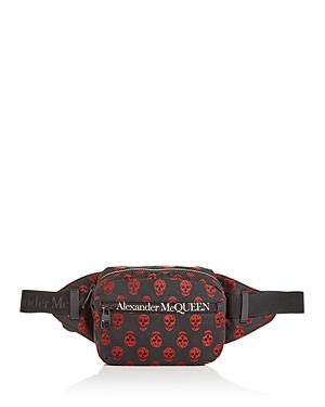 Alexander McQUEEN Urban Skull Print Belt Bag