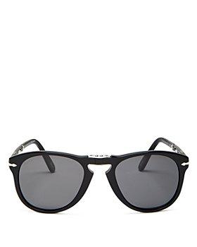 Persol - Men's Steve McQueen™ Polarized Foldable Brow Bar Aviator Sunglasses, 54mm