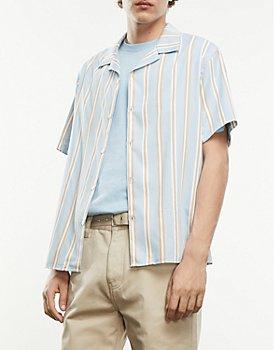 The Kooples - Blue Striped Shirt
