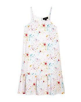 AQUA - Girls' Paint Splatter Dress, Big Kid - 100% Exclusive