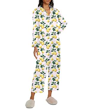 Nikki Lemon Print Pajama Set