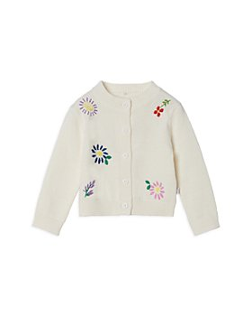 Stella McCartney - Girls' Floral Embroidered Cardigan - Baby
