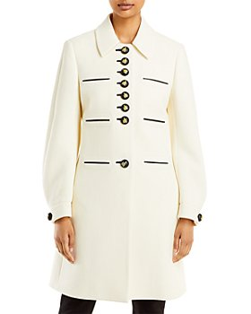 Lanvin - Button Front Collared Coat