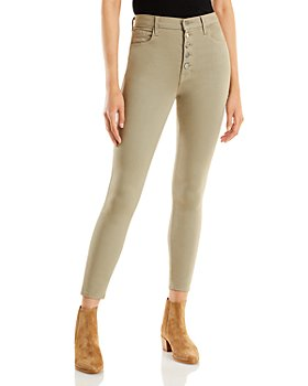J Brand - Lillie High Rise Cropped Skinny Jeans