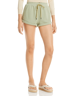 Tandy Wide Cuff Drawstring Shorts