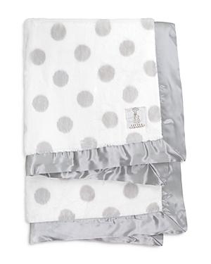 Little Giraffe Unisex LuxeDots Baby Blanket - Baby