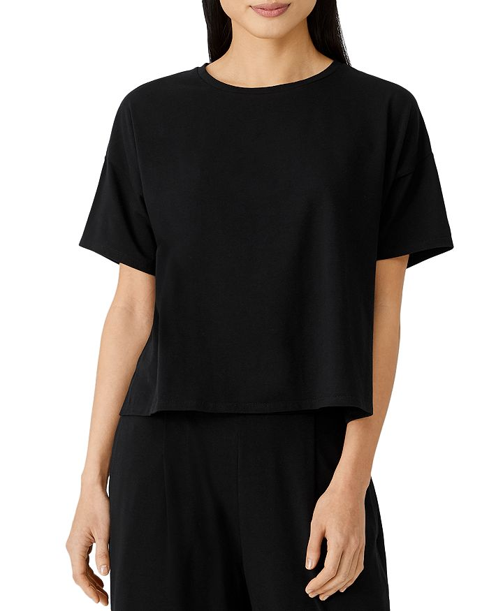 Eileen Fisher - Short Sleeve Boxy Top