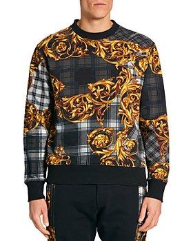 Versace Jeans Couture - Tartan Baroque Print Sweatshirt
