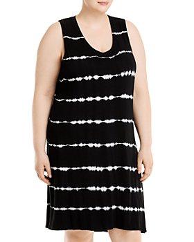 Marc New York Plus - Tie Dyed A Line Dress