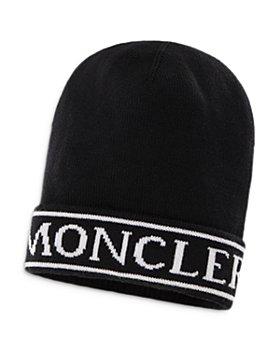 Moncler - Unisex Wool Logo Beanie - Big Kid