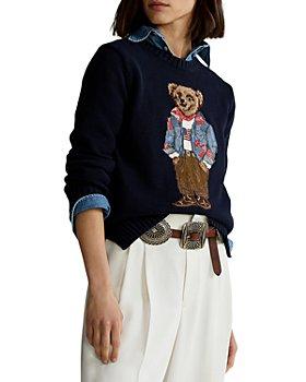 Ralph Lauren - Bandanna Polo Bear Sweater