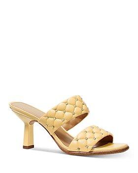 MICHAEL Michael Kors - Women's Amelia Quilted Slide Sandals