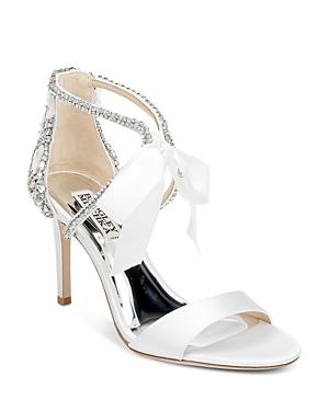Women's Bonita Ankle Tie Embellished Sandals