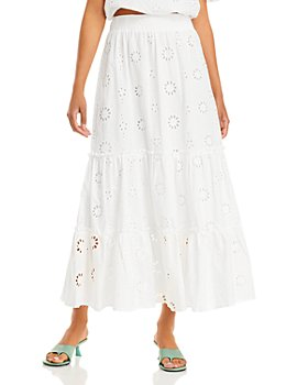 WAYF - Gracia Tiered Maxi Skirt